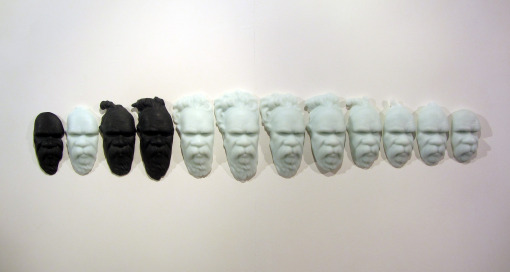 Megan Bottari, Post-Modern Tokenism III, lost wax cast crystal