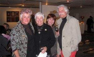 Megsie, Granny, Brigitte & Klaus