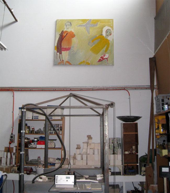 Artist's-art-collection