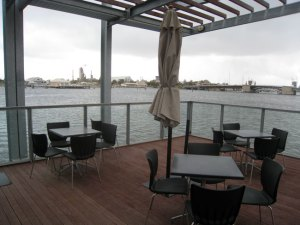 Lipson Cafe - the deck