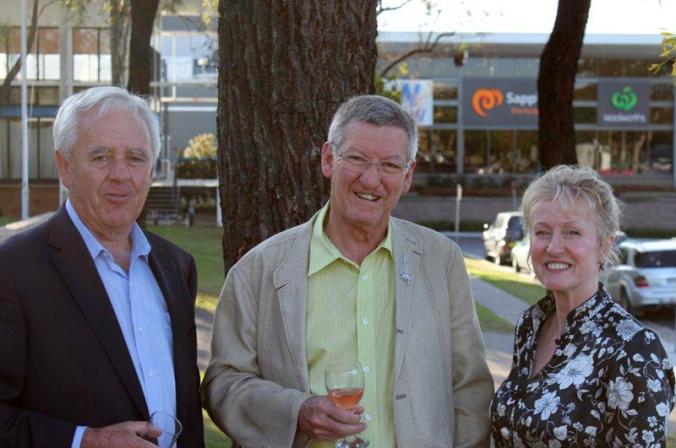 Bill, David and Anne