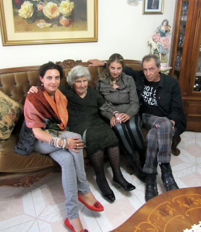 Sammy Jo, Nonna, Ginger and Sammy