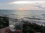 sunset g&t at the yacht club