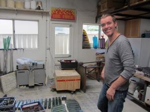 Matthew Curtis studio visit