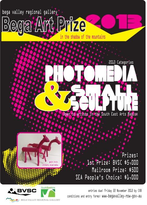 Bega Art Prize 2013 Poster