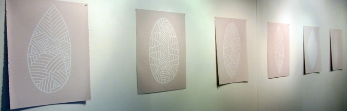 Michael Brogan, Mock Turtle series, Wite-out on Arches