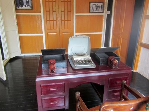 General Aung San's desk