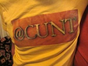 @cunt