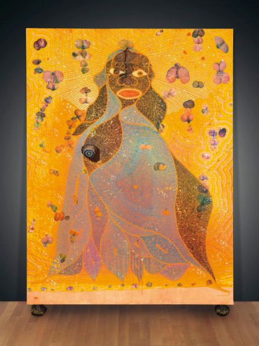 chris-ofili-the-holy-virgin-mary
