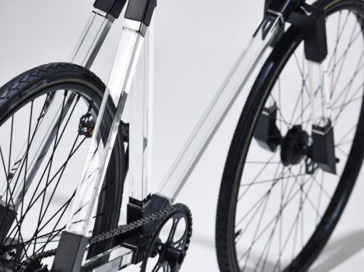 Latvian Glass bike - Glass Muse