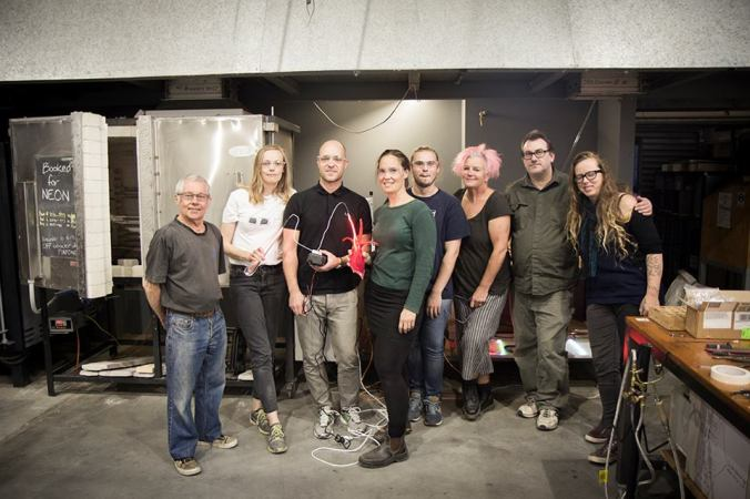 Richard Theater workshop at the Canberra Glassworks