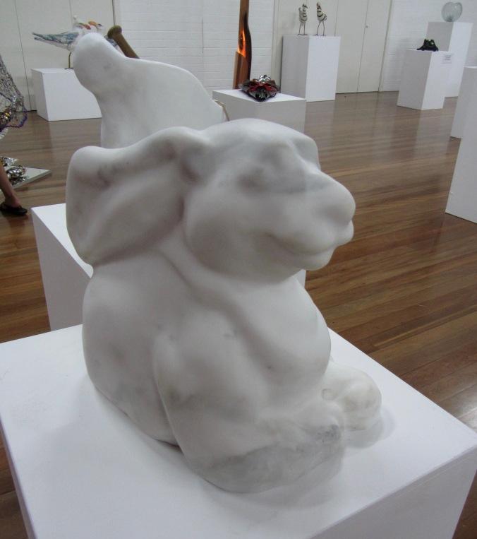 Victoria Nelson, Reclining Bunny